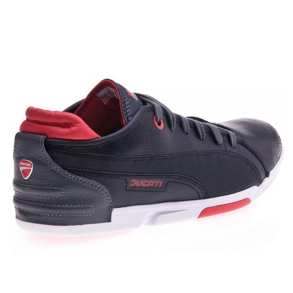 Buy Puma Men's Xelerate Low Ducati Black Leather Boat Shoes