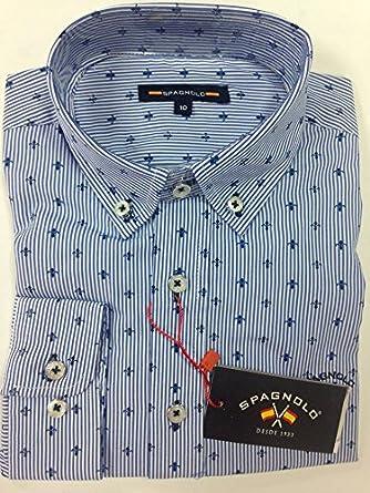 Spagnolo SPAÑOLO NIÑO Camisa Estampada (4 AÑOS): Amazon.es: Ropa y accesorios