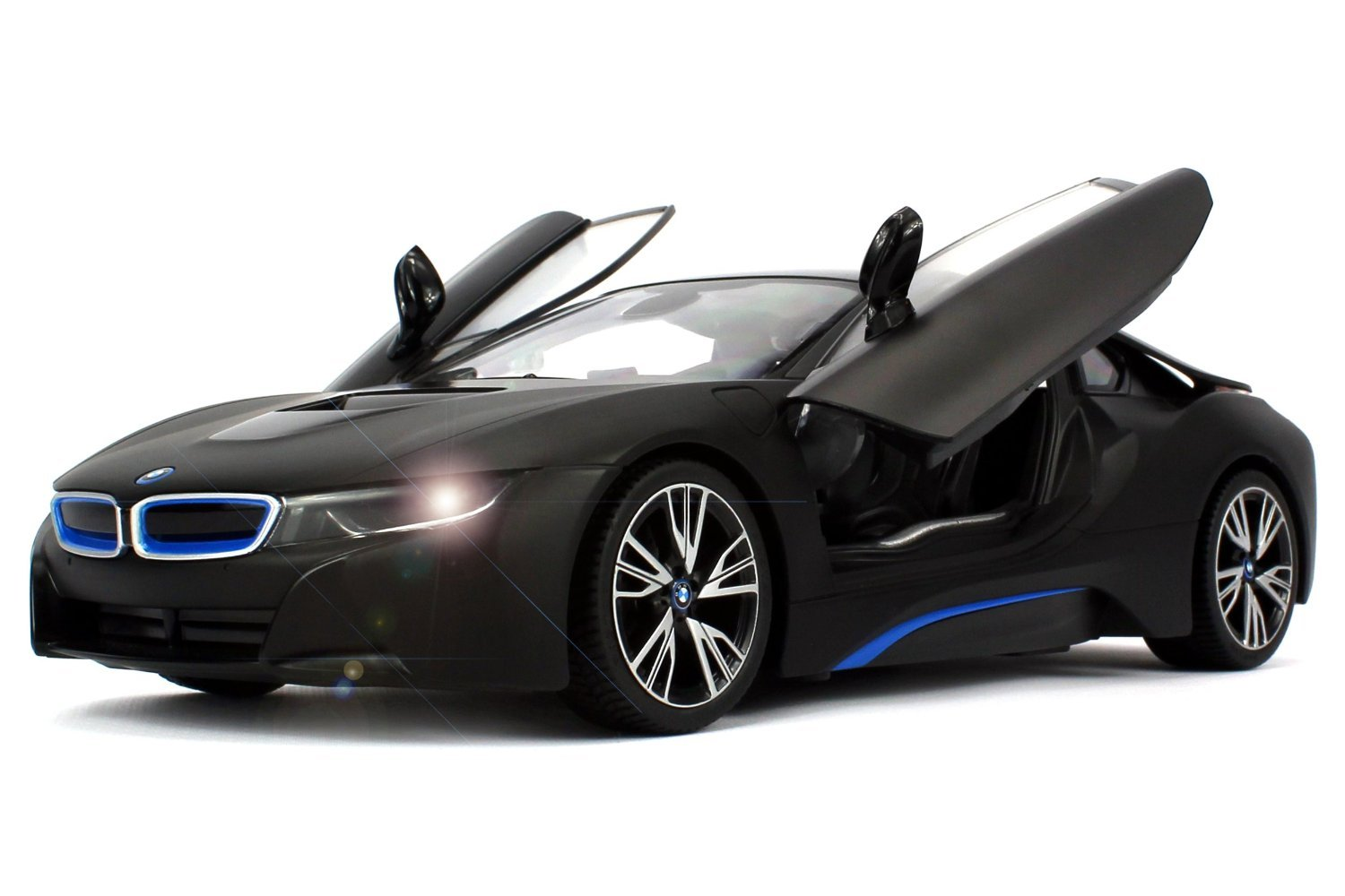 Amazon.com : Officially Licensed BMW i8 Authentic w/Open Doors RC ...