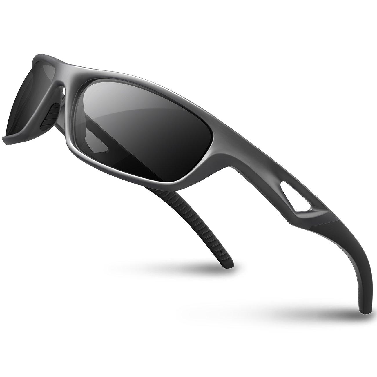 F366 by Bertoni Clip /Óptico para Lentes Correctivas Patillas Sustituibles con Banda Elastica Gafas Moto Fotocromaticas Lentes Anti-Vaho