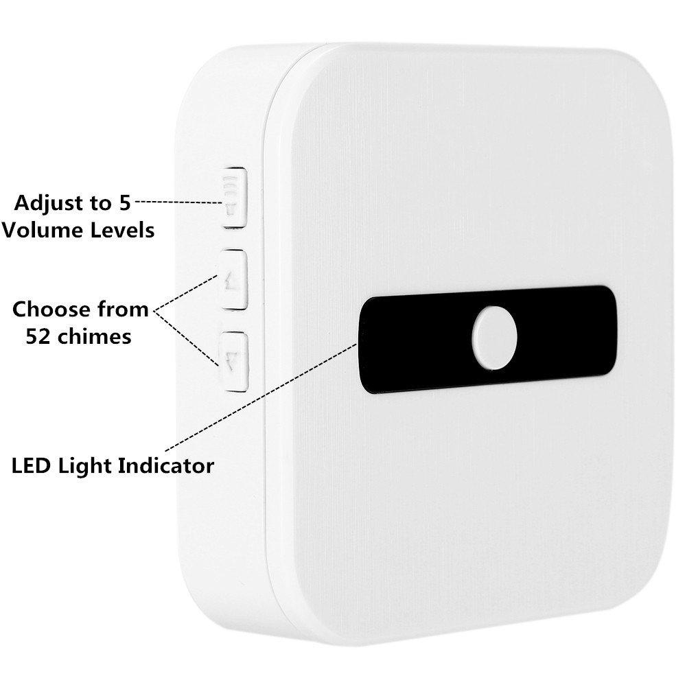 Wsdcam Indoor Wireless Chime for Video Doorbell
