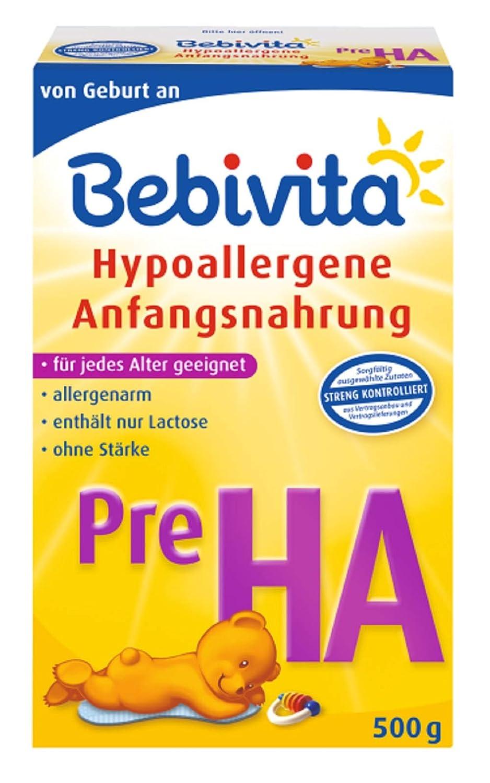 Bebivita Pre HA 1 x 500g, Hypoallergene Anfangsnahrung
