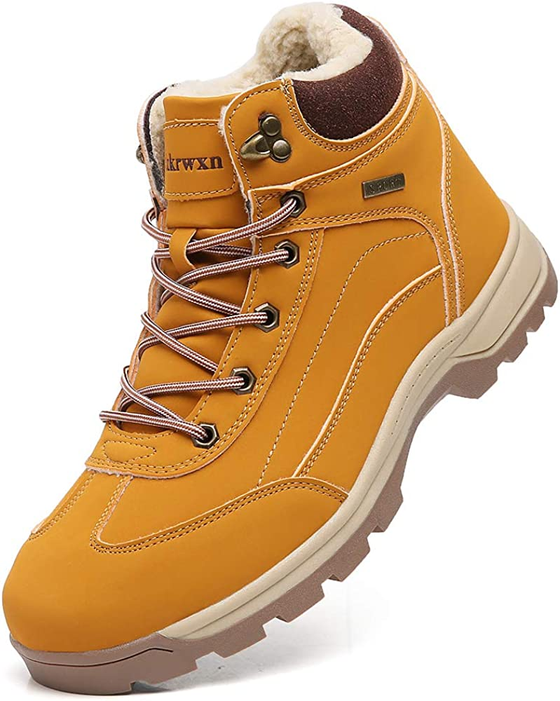 New product!! Men Winter Snow Boots Cold Weather Warm Sho Hiking Fur Insulated Sale