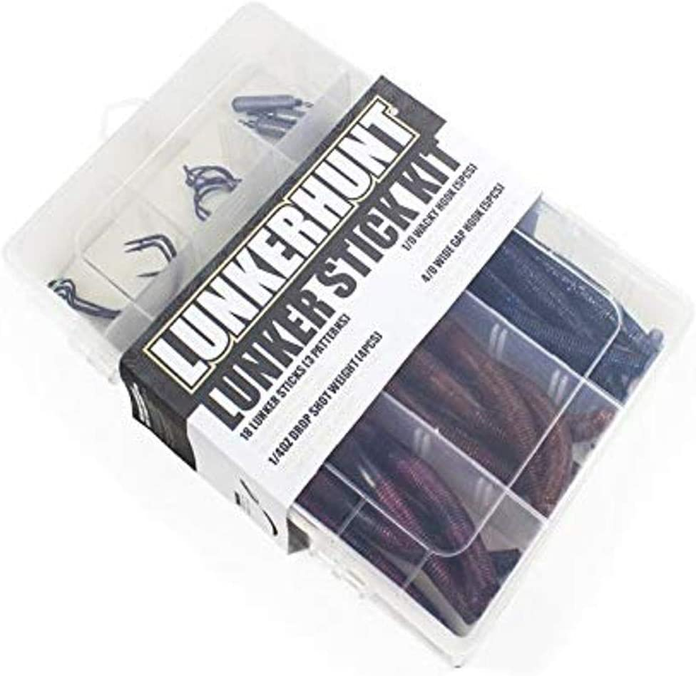 Lunkerhunt Lunker Sticks 5 inch Soft Plastic Stickbait 10 pack