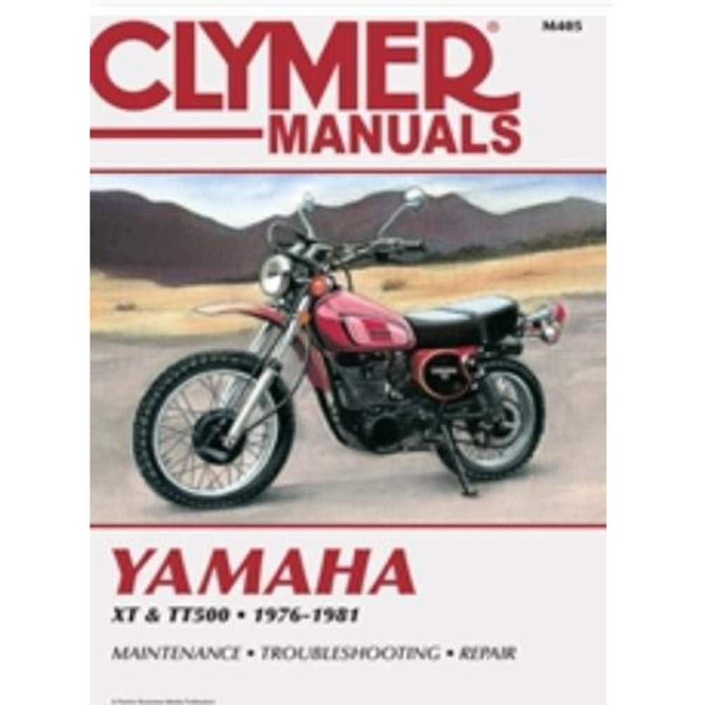 Clymer Repair Manual For Yamaha Xt500 Tt500 76 81 Wiring Diagram Automotive