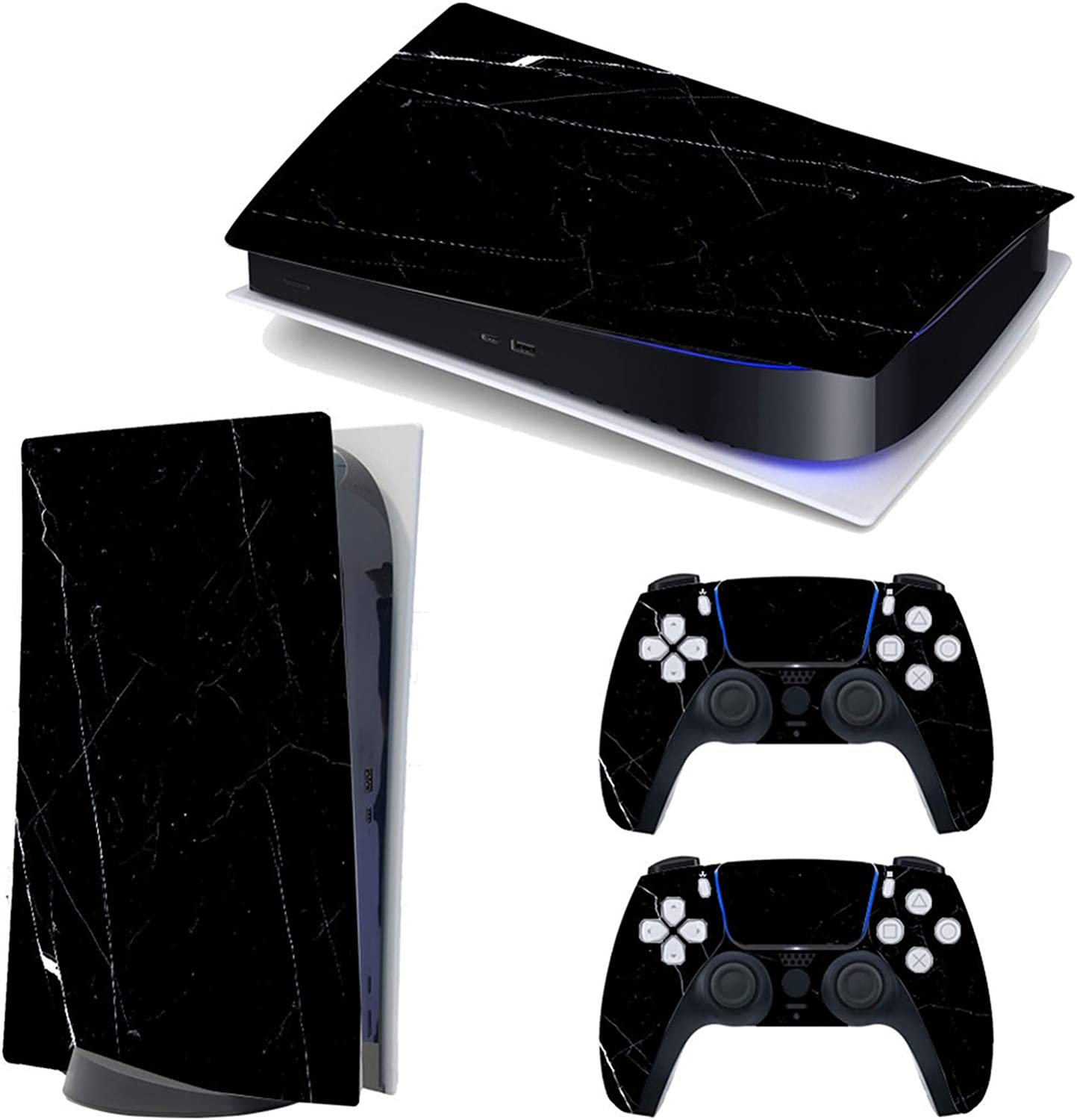 PS5 Console and DualSense Controller Skin Vinyl Decal Full Wrap Cover Stickers for Sony Playstation 5 PS5 Skin
