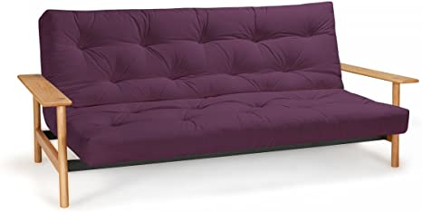 Futon sofá Balder – Sofá-Cama 140 x 200 cm con Futon & somier ...