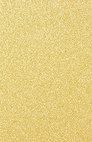 MirriSPARKLE Glitter Gold Cardstock - 11 x 17, 104lb Cover, 25 Pack