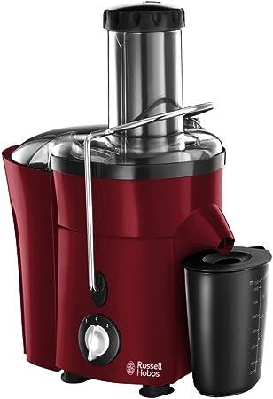 Russell Hobbs Desire Entsafter (2 Geschwindigkeitsstufen, extra große Einfüllöffnung, 700ml Saftbehälter, 2.0l Fruchtfleischbehälter, 550 Watt,