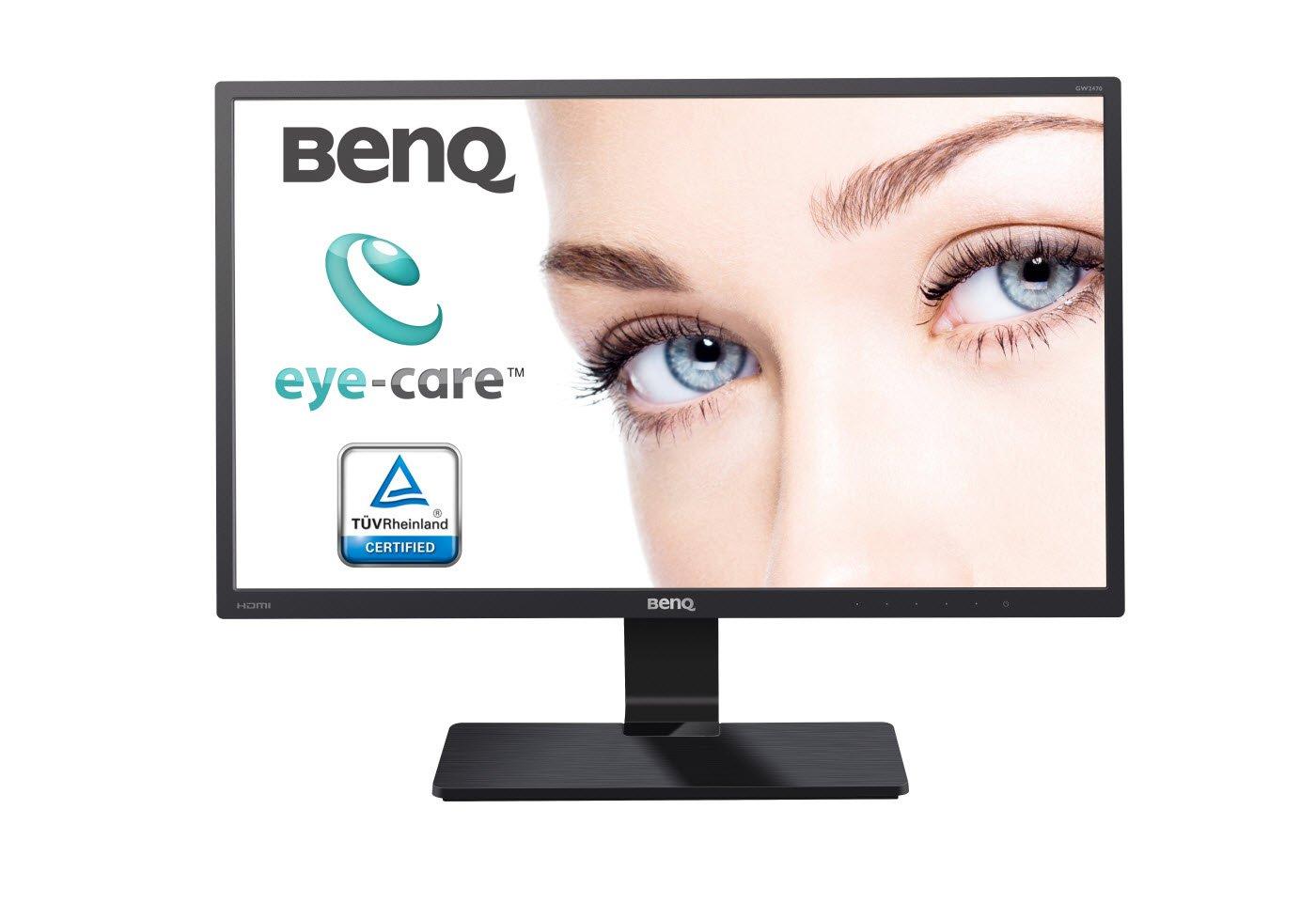 "BenQ GW2270 - Monitor LED Eye-Care de 21.5"" (1920 x 1080, VGA/DVI, Low Blue Light, Flicker-free), color negro"