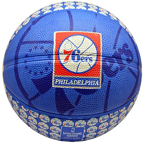Spalding NBA Philadelphia 76ers Team Colors , Mascot, And Logo Mini ()