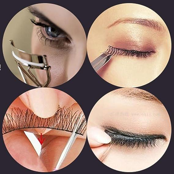 Grapadora de pestañas – Herramienta de maquillaje de ojos ...