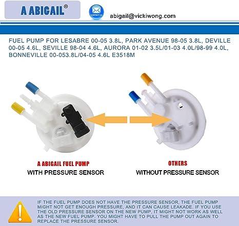 New Fuel Pump Level Sensor 00-05 Aurora Bonneville Deville LeSabre Park Avenue