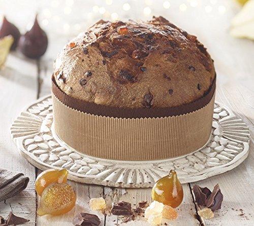 """Panettone Artesanal de Chocolate e Higos """"AL CORSO - BOTTEGA DEL GUSTO ITALIANO"""""""