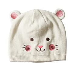Toubaby Baby GILR Winter Hats Animal Model Hats Lovely Cat Hat 0-4t