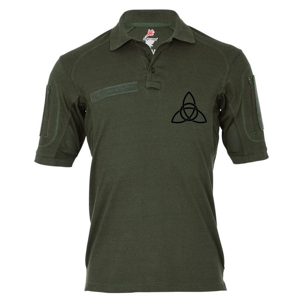 Tactical Poloshirt Alfa - Celtic Knoten Keltischer Knoten Symbol Kelten Keltenmuster  19373