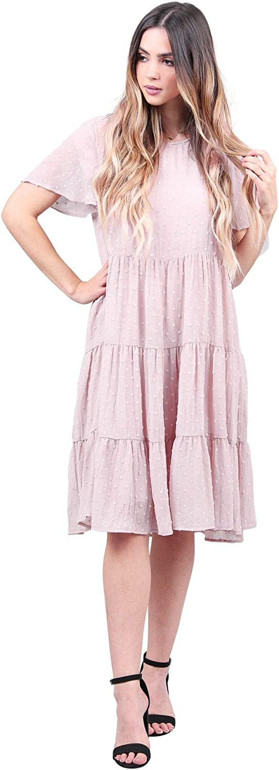 B084H29JTC Mikarose Hannah Modest Tier Dress or Modest Church Dress 61PWVZMsAiL