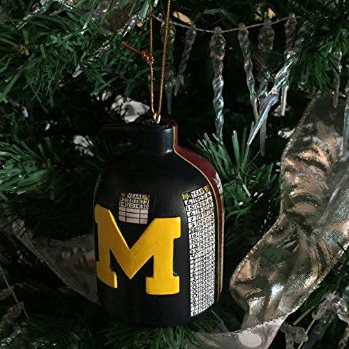 Michigan Wolverines Brown Football - 8
