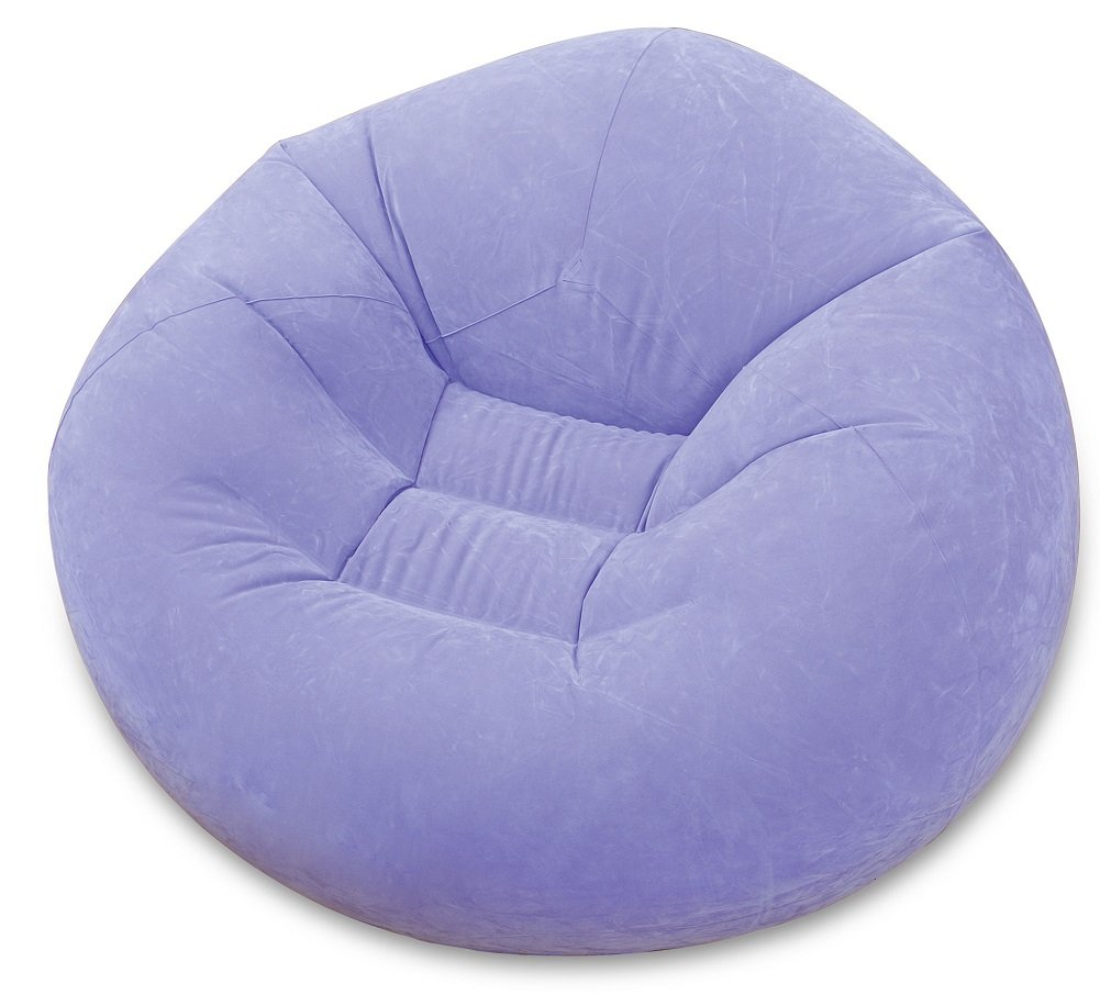 Surprising Intex Lt Purple Lavender Inflatable Beanless Bag Chair Dailytribune Chair Design For Home Dailytribuneorg