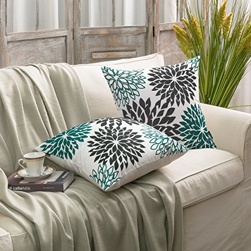 Phantoscope New Living Dahlia Series Decorative Throw Pillow