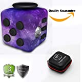 Fidget Cube Relieves Stress And Anxiety, Starcook Fidget Toy Fun Cube Anxiety Attention Toy for Children and Adults with ADHD ADD OCD Autism (Star)