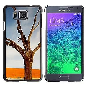 """For Samsung Galaxy Alpha G850 , S-type Planta Naturaleza Forrest Flor 15"""" - Arte & diseño plástico duro Fundas Cover Cubre Hard Case Cover"""