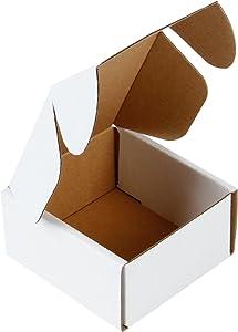 RUSPEPA Recyclable Corrugated Box Mailers - Cardboard Box Perfect for Shipping Small - 4
