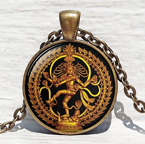 Dancing Nataraja necklace Buddhist Spiritual product image