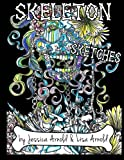 Skeleton Sketches Coloring Book