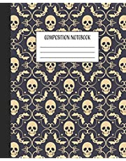 """Composition Notebook: Halloween Composition Book 