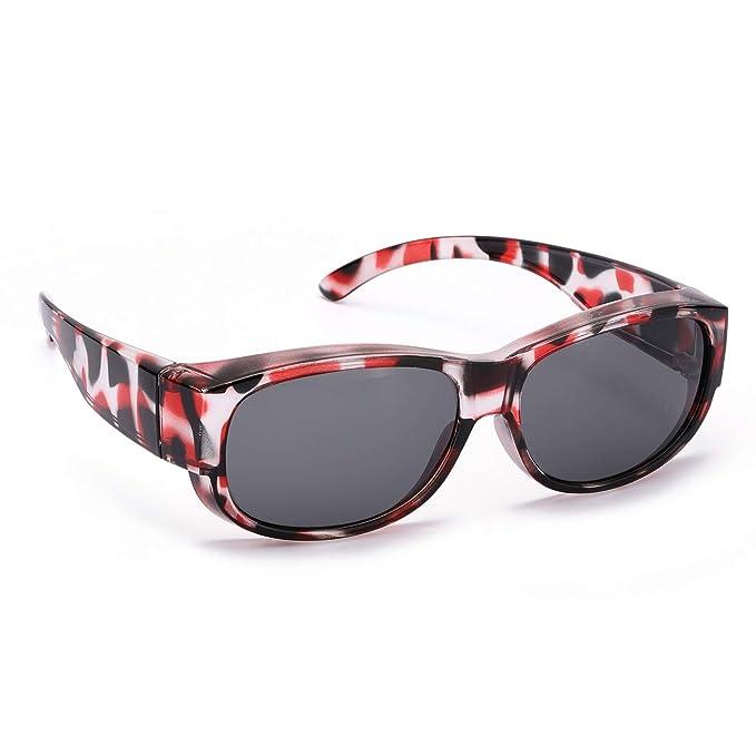 Polarizadas Gafas de Sol Sobre Gafas Graduadas Desgaste Colocar Sobre las Gafas Normales y de Lectura