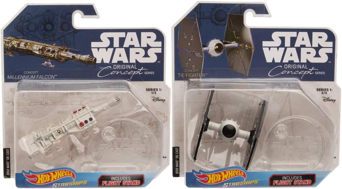 Star Wars Disney Mattel Hot Wheels Star Naves Espaciales Rogue un soporte Nuevo Raro