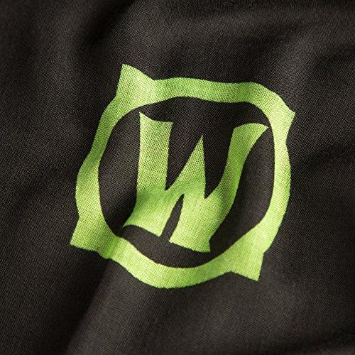 JINX-World-of-Warcraft-Legion-Printed-Scarf-Black-72-x-45