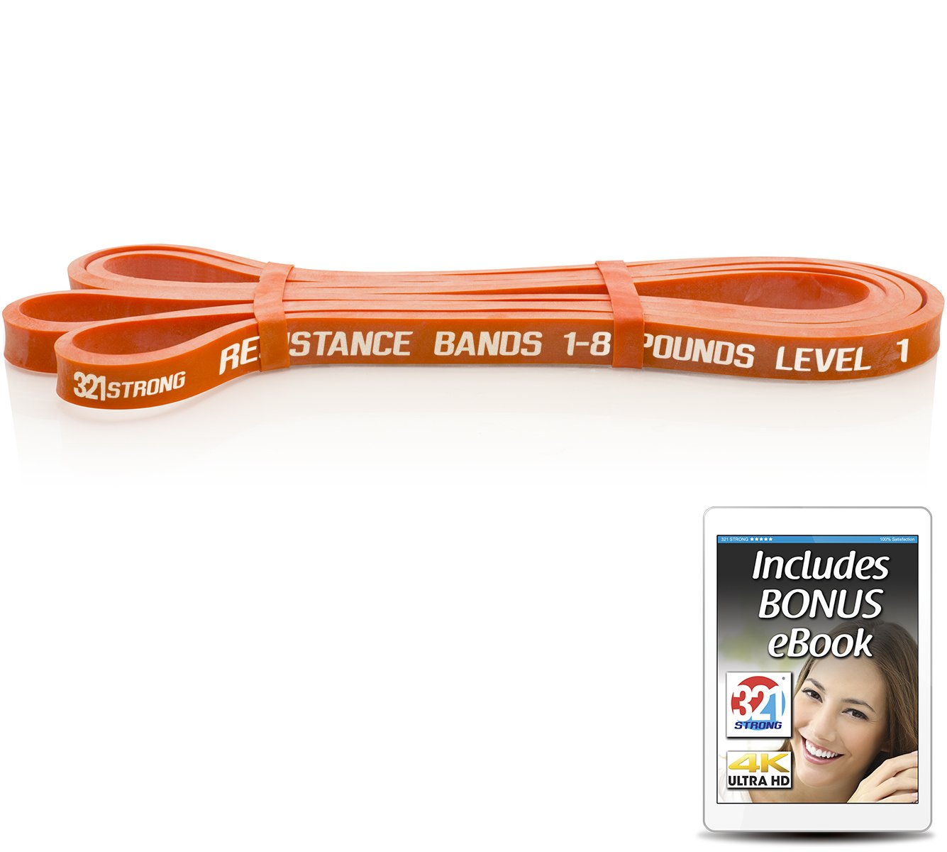 321 STRONG Exercise Resistance Bands - Level 1
