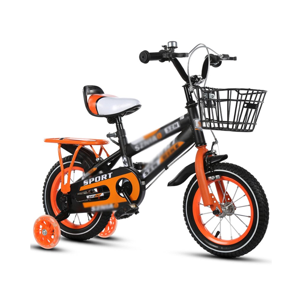 Gai Huaホーム子供用自転車子供のBicycles, 2 – 3 - 4 – , 7 , – 8 Years Old Baby 12 – 14 – 16 – 18インチBaby Carriage 3 C証明子車 B07DQNKCF6 12 inches|オレンジ オレンジ 12 inches