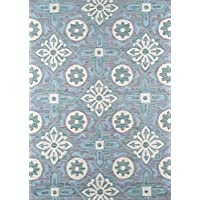 Momeni Rugs SUMITSUM13GRY2030 Summit Collection, Hand Knotted Transitional Area Rug, 2 x 3, Grey