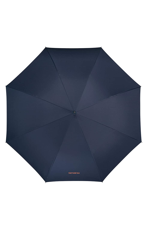 Asphalt Grey//Yellow 84 cm Man Auto Open Parapluie Canne Gris SAMSONITE Up Way