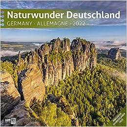 Naturwunder Deutschland 2022 Broschürenkalender