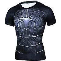 HOOLAZA Avengers Super Heroes Hombres Camiseta de compresión