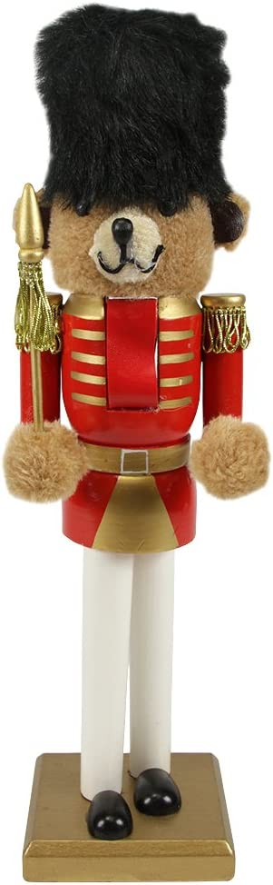 14 Red and Gold Soldier Nutcracker Christmas Table Top Decor