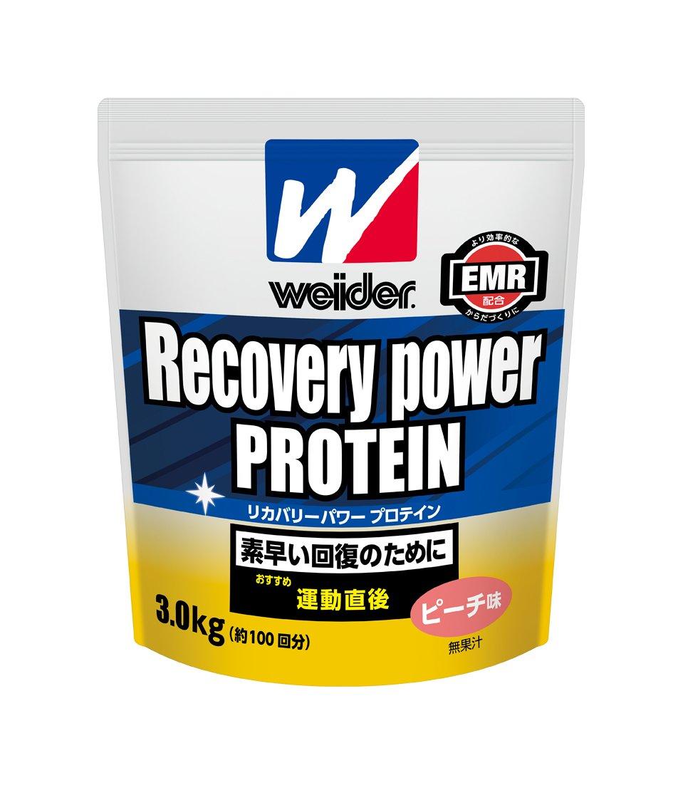 ウイダー リカバリーパワープロテイン3.0kg ピーチ味 B079494ZLL