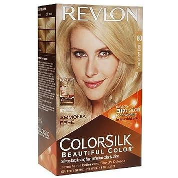 Amazoncom  Revlon Colorsilk Ammoniafree Permanent Haircolor