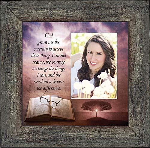 (Personally Yours Serenity Prayer, Serenity Prayer Wall Decor, Prayer Art, 10x10 6378BW)