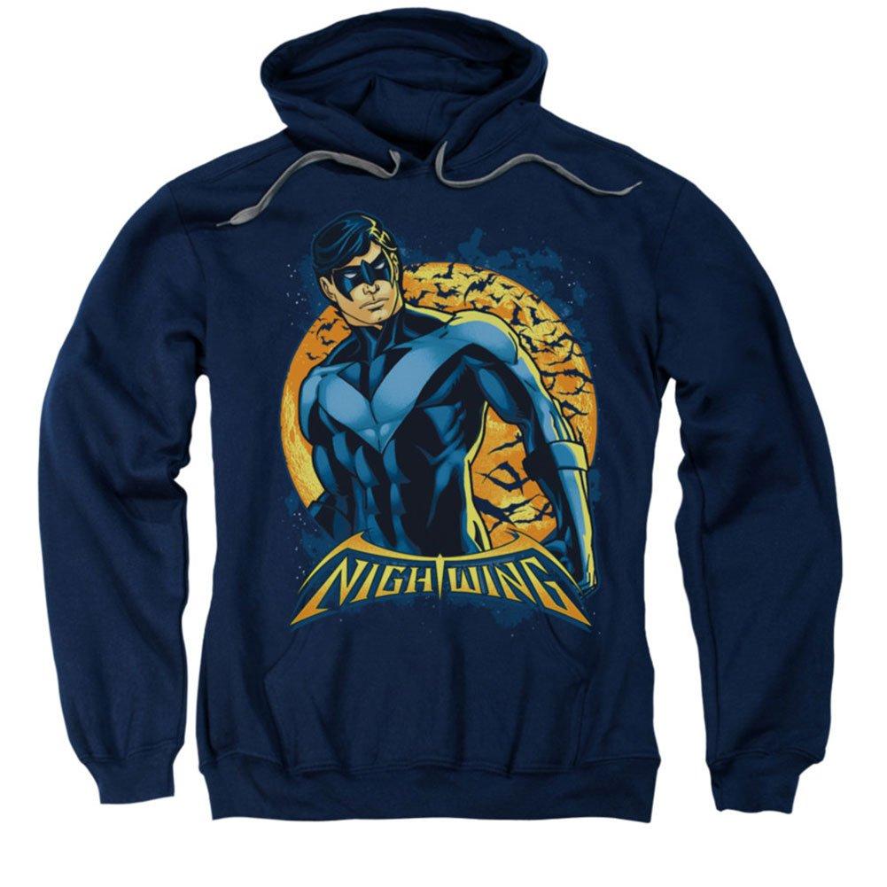 Trevco Batman Nightwing Moon Flying Bats Lizenzprodukt Sweatshirt Hoodie