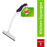Scotch-Brite Kitchen Squeegee Wiper,White/Blue.