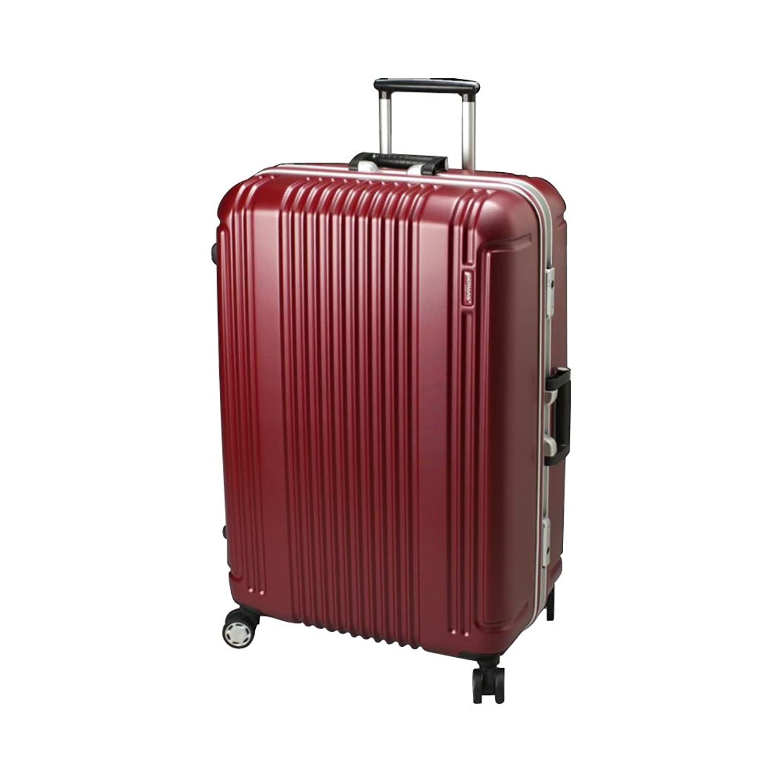BERMAS PRESTIGE II バーマス プレステージ2 スーツケース ハードキャリー フレームタイプ 4輪 68cm 83L ワイン 60266-WN B00NHQVBIE
