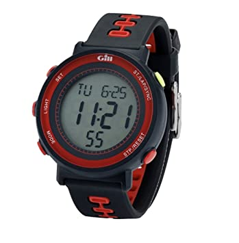 Gill Race Watch Black/Red