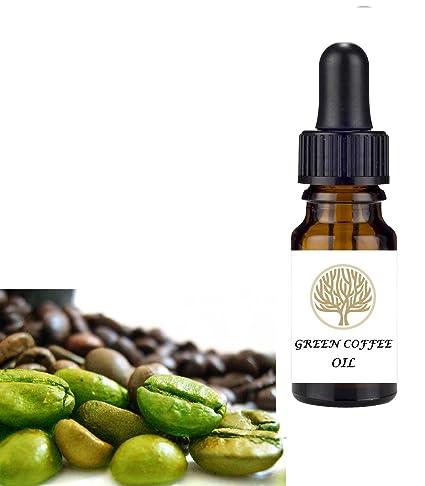 Aceite virgen de café verde 100 % natural prensado en frío Ayuda al cuidado de la piel, el cabello ...