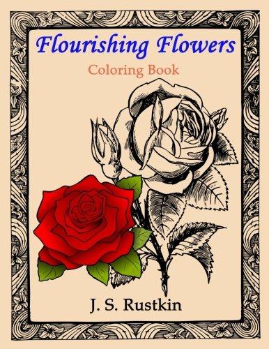 Flourishing Flowers Coloring Book