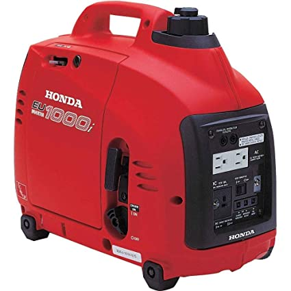 Inteligentny Amazon.com : Honda EU1000i Inverter Generator, Super Quiet, Eco IO32